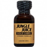 Poppers Jungle Juice Gold Label (amyle) 24ml - PwdFactory