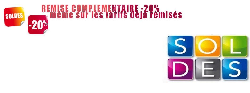 SOLDES REMISE -20%